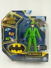 """Spin Master Dc Comics 1st Edition 4"""" The Riddler Free Shipping 100% Mo' Betta'!"""