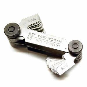 Metric & Whitworth Thread/Screw Pitch Gauge TE121