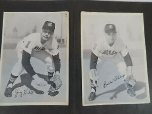 1960s Cleveland Indians Photo Pack Partial Lot of 9 Phillips Kindall Luplow