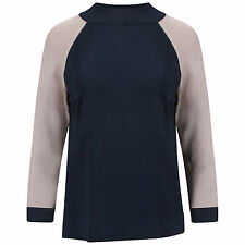 Women's 3/4 Sleeve Polyamide No Pattern Jumpers & Cardigans