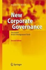 New Corporate Governance: Successful Board Management Tools