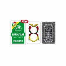 Carte da Gioco Modiano Napoletane FAMILY 1 Mazzo 40 Carte duplex plasticate