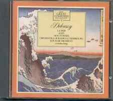 DEBUSSY - LA MER + NOCTURNES / ORCH OF RADIO LUXEMBOURG / LOUIS DE FROMENT - CD