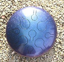 Edelstahl Tongue Drum - Handpan - Stardust Double VibeDrum  - 18 Noten – B 31 cm