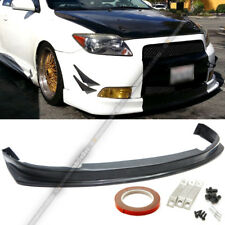 For 04-10 tC Urethane JDM Style PU Front Bumper Lip Spoiler Body Kit Add On