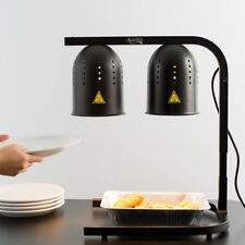 Avantco W 62 Black 2 Bulb Free Standing Heat Lamp/Food Warmer Free Ship US Only