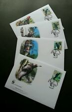 Serbia WWF Woodpecker 2007 Bird (stamp FDC)