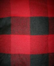 Vintage Marlboro Country Store Stadium Blanket Throw red black buffalo plaid