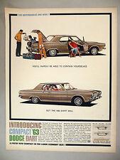 Dodge Dart PRINT AD - 1962 ~~ 1963 model