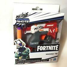 NERF FORTNITE MICRO SHOTS TS Single Shot Blaster w/ 2 Darts In STOCK