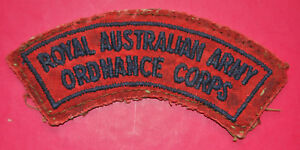 Royal Australian Army Ordnance Corps shoulder title RAAOC badge