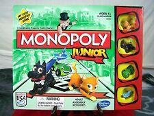 HASBRO GAMING MONOPOLY JUNIOR 5+ USA 2013 BOARD GAME