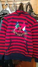 Vintage polo ralph lauren snowbeach rare usa 1992 cross flags hoody size S NEW
