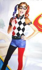 Dc Super Hero Girls Harley Quinn Halloween Purim Costume Outfit Small 4 6 New
