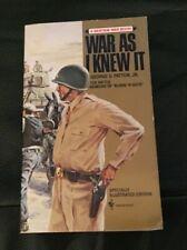 War As I Knew It (Bantam War Book) by George S. Patton Paperback 1980
