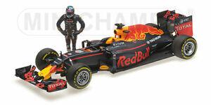 Red Bull Rb12 Daniel Ricciardo With Pilot Gp Austria 2016 1:18 Model 117160603