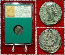 New ListingAncient Roman Empire Coin Of Constans Vot Xx Mvlt Xxx Wreath