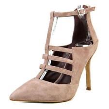 Zapatos de tacón de mujer de tacón alto (más que 7,5 cm) de color principal marrón Talla 39
