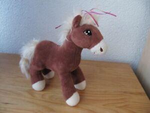 NICI Pferd Pony Haflinger 22 cm Stofftier Kuscheltier Plüschtier