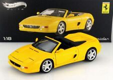 Ferrari 355 F355 spider yellow scale 1:18 Hotwheels ELITE NEW in Box !!