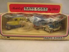 LLEDO  Models of Days Gone - Gift Set 2 Cars , 1 Horse Drawn  NIB (10)