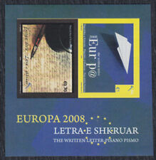 Kosovo 2008 Europa CEPT - the letter, block, imperforated, MNH