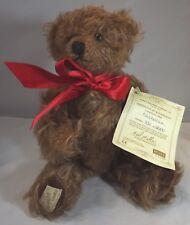 Dean's 28cm Mohair Jointed Teddy Bear 'Nicholas' Collector's Club Ltd. Ed.