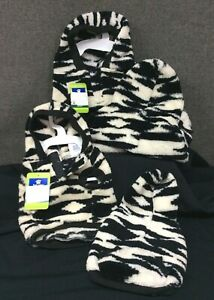 Top Paw Black Aztec Fleece Dog Hoodie~ Your Choice XS, S, M, or L~ NEW with Tags