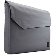 "Case Logic LODO-113 Grey Canvas 13.3"" Padded Laptop Sleeve Case"