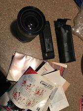 Canon AE-1 Program 35mm    W/ 28-105mm Kiron Macro Lens
