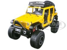 2015 JEEP WRANGLER UNLIMITED YELLOW OFF ROAD KINGS 1/24 DIECAST BY MAISTO 32523
