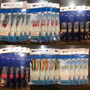 Mackerel Rigs Hokkai Rigs Mackerel Feathers Bait/Lures Sea Fishing