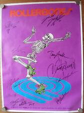 Powell Peralta Poster Signed by Bones Brigade Tony Hawk - Roller Bones  Rare