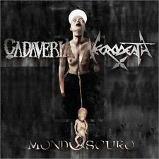 "Cadaveria/Necrodeath ""Mondoscuro"" Split CD 2016"