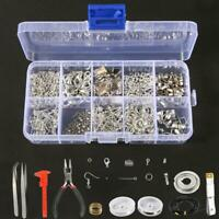 Jewelry Making Kit Wire Anklets Sterling Beading Repair Tools Craft Supply NEW
