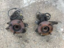 Mk6 Ford Fiesta Pair Of Front Wheel Hubs Inc Bearings and Flanges 2005 Etc ABS