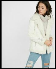2d5bc15d92 Shearling Solid Coats, Jackets & Vests for Women for sale | eBay