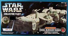 STAR Wars ULTRA RARA elettronico in scatola Rebel Blocco Corridore Con Luci & Suono.