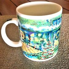STARBUCKS Van Gogh Style Christmas Store Public Market Farmers Seattle Mug #10