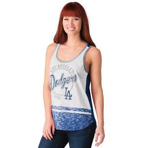 G-III 4her Los Angeles Dodgers Women's Blowout Tank Top