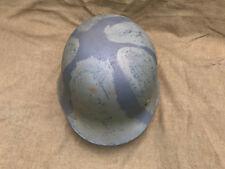 WWII WW2 German Helmet M42 Camo NO RESERVE