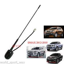 Black Long Antenna Replacement Fit Isuzu Holden D-Max V-Cross 4x4 UTE 2012-2017