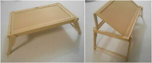 Wooden Breakfast Table Bed Tray Folding Table Reading Drawing Serving