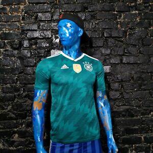Germany Team Jersey Away football shirt 2018 - 2019 Green Adidas BR3146 Young XL