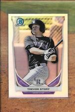 TREVOR STORY 2014 Bowman Chrome Draft REFRACTOR Rockies SS RC Qty. Available