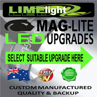 MAGLITE UPGRADE LED CONVERSION CREE 1W-10W BULB GLOBE FLASHLIGHT TORCH 70-1100LM