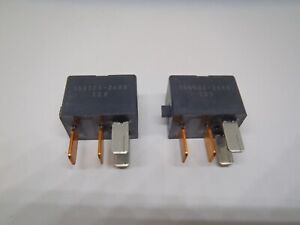 Two Relays 4-Pin Denso 156700-2680 12V Honda Accord 12Volt