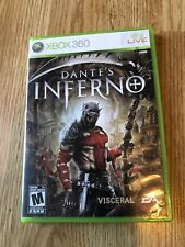 Dante's Inferno (Microsoft Xbox 360, 2010) Cib Game Compete Works VC1