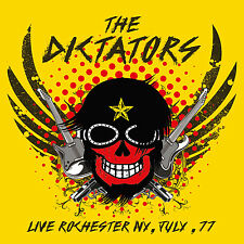 THE DICTATORS - Live Rochester NY, July, 77. New LP + sealed ** NEW **