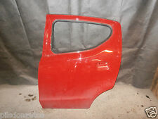 NISSAN PIXO 2012 NSR NEARSIDE PASSENGER SIDE REAR DOOR ,BRIGHT RED Z9T